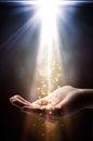 Faith falls on your hand