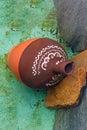 Fake antique ceramic pottery treasure Royalty Free Stock Photo