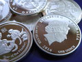 Fake silver coins