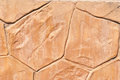 Fake stone red paving texture Royalty Free Stock Photos
