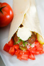 Falafel wrap Royalty Free Stock Photography