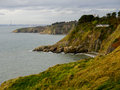 Falaises de Howth. l'Irlande. Images stock