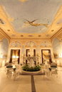 Falaknuma Palace front entrance room, Hyderabad Royalty Free Stock Image