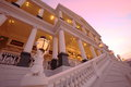 Falaknuma Palace at sun down Stock Images