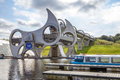 Falkirk Wheel, Scotland 9 Royalty Free Stock Photo
