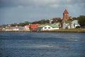 Falkland Islands Capital Royalty Free Stock Photo