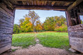 Fall Colors in Cade's Cove Royalty Free Stock Photo