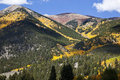 Fall Colors in the Rocky Mountains Stock Photos
