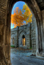 Fall Colors From The Washington Memorial Chapel Royalty Free Stock Image