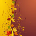 Fall design Royalty Free Stock Photos