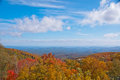 Fall Foliage,Blue Ridge Mountains, N.C. Royalty Free Stock Photo