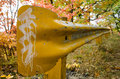 Fall Guardrail Royalty Free Stock Photos