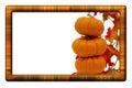 Fall Harvest Border Royalty Free Stock Photos