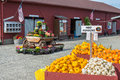 Fall Harvest Farmers Market Royalty Free Stock Images
