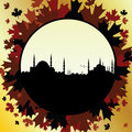 Fall In Istanbul Royalty Free Stock Image