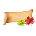 Fall Memo Board Royalty Free Stock Photos