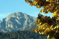 Fall mountain Royalty Free Stock Images
