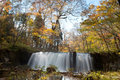 Fall of Oirase, Japan Royalty Free Stock Photography