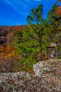 Fall At Pedestal Rock Royalty Free Stock Photo