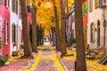 Fall in Philadelphia Royalty Free Stock Photo