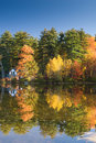 Fall Reflections Royalty Free Stock Photography