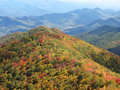 Fall Smoky Mountains Stock Photography