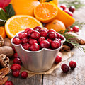 Fall and winter ingredients still life Royalty Free Stock Photo