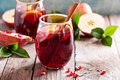 Fall and winter sangria Royalty Free Stock Photo