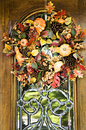 Fall Wreath Royalty Free Stock Images