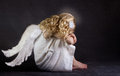A fallen angel Royalty Free Stock Photo