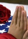 Fallen Prayer Royalty Free Stock Photo
