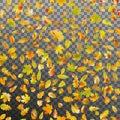 Falling autumn leaves. EPS 10 vector