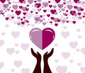 Falling in love Royalty Free Stock Photo