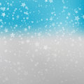 Falling Snow Background. Abstract Snowflake Pattern. Vector Illustration Royalty Free Stock Photo