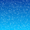 Falling snow background illustration Stock Images