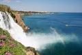 Falls in Antalya Royalty Free Stock Photo