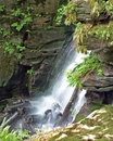 Falls in Carpathians Royalty Free Stock Photo