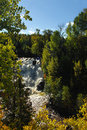 Falls at Eagle River Royalty Free Stock Images