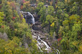 Falls full view whitewater Стоковые Фотографии RF