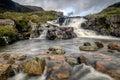 The Falls at Glen Coe Royalty Free Stock Photo