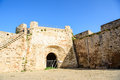 Famagusta city walls leading to otello stronghold northern cypr cyprus Stock Photos
