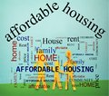 Family Affordable Housing Royalty Free Stock Photo