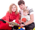 Family with baby boy Stock Photography