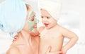 Family Beauty Treatment In  Ba...