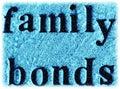 Family Bonds Royalty Free Stock Photo