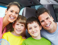 Family car Stock Photography