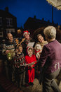 Family Carol Singing Royalty Free Stock Photo