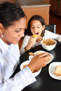 Family Eating Breakfast Royalty Free Stock Photo