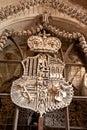 Family emblem of Schwarzenberg Royalty Free Stock Photo