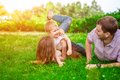 Family - enjoying the life together Royalty Free Stock Photo